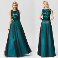 Ever-Pretty Plus Size Lace Long Formal Evening Gown Party Prom Cocktail Dresses