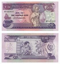Ethiopia, 100 Birr 1976 (EE 1969), Pick 34a, VF, sign. 1