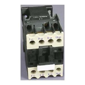 1 x RS Pro 3 Pole Contactor, Current Rating 18A, 9kW, Coil Voltage 400V ac