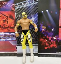 WWE Mattel action figure BASIC Series REY MYSTERIO 619 Yellow toy PLAY Wrestling