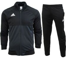adidas Mens Tracksuit F49712 Sere 14 PES Suit Black Silver Unopened M
