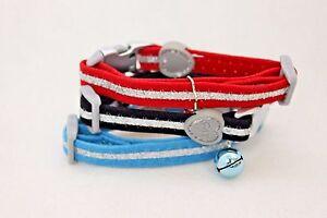 Kitten / Cat Velvet Safety fashion collar, Breakaway Collar & Glitter Sparkles