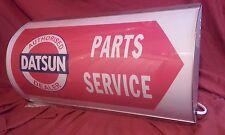 datsun,nissan,cherry,240z,garage,workshop,mancave,light up,sign,vintage,display