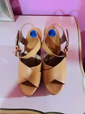 Michael Kors Leather Tan Color Heels Size 6 1/2