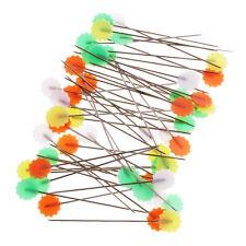 50pcs Sewing Pins Flat Head Dressmaking Quilting Tools Craft Patchwork Pins