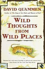 Wild Thoughts from Wild Places Quammen, David Paperback