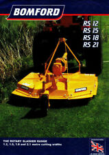 Bomford gyrobroyeur RS gamme notice 7936 A