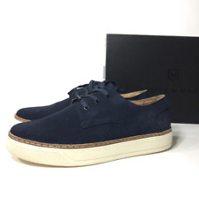 $200 Andrew Marc Navy Suede Leather Men's Casual Athletic Shoes Fashion Sneakers