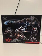 Masterpiece Transformers lockdown VT -01 Bounty Hunter