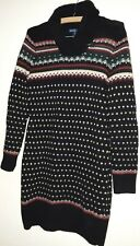 RALPH LAUREN WOMEN'S SZ MED WOOL ANGORA CASHMERE BLEND SWEATER DRESS