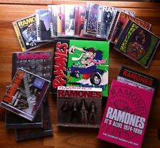Ramones Lot Collector Collectors Cd DVD VHS Collection Box Set Punk Rock Legend