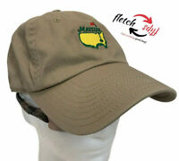Masters Golf Tournament Baseball Hat Cap Green American Needle Embroidered  Tan