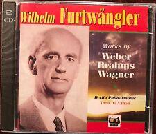 Furtwangler in Turin, Weber Brahms Strauss Wagner 2 CDs Tahra New Sealed RARE