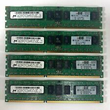 HP Nanya 1GB 1Rx8 DDR3 PC3-10600 Unbuffered ECC RAM NT1GC72B89A0NF-CG 500208-061
