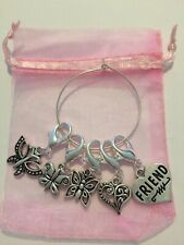 Butterfly Themed Crochet / Knitting Place/ Stitch Markers & Friend Charm