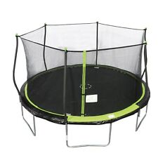 NEW Bounce Pro 14ft. Trampoline With Safety Enclosure Net Combo Bundle