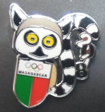 2018 PyeongChang Olympic winter Games pins NOC for Madagascar #1, limited 200