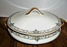 Theodore Haviland LIMOGES France Troy ROUND Vegetable Casserole Bowl & Lid VTG