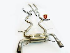 BECKER Catback Exhaust For 2007-2010 BMW 335i E92 Coupe Twin Turbo N54 2Dr