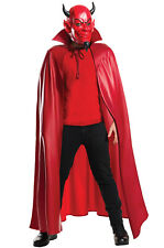 Brand New Scream Queens Deluxe Red Devil Mask and Cape Set
