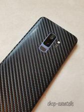 Samsung Galaxy S9 Plus (S9+) Decal Skin - Black Carbon Fiber