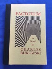 FACTOTUM - FIRST TRADE EDITION BY CHARLES BUKOWSKI