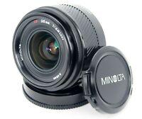 "Minolta Original ""alpha"" a Mount  AF 28mm f/2.8 w/ F(49mm).R(LR-1000) Cap Sony"