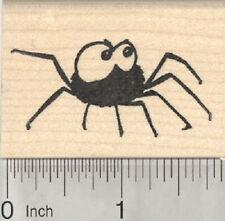 Halloween Spider Rubber Stamp, Cute Creepy  E28620 WM