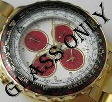SEIKO ORIGINAL GLASS CRYSTAL FOR Seiko Pilot Flight Master Watch 7T34-6A0H  H801