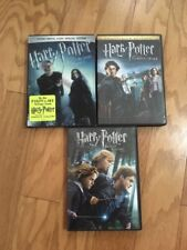 Lot Of Harry Potter Dvd's! 3 Movies (4discs)! Goblet, Hallows, Half-blood