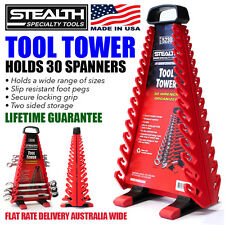STEALTH SPECIALTY TOOLS Spanner Tool Tower System Organiser Wrench Mobile Rack