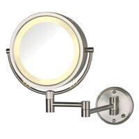 Hotel Quality 8 Wall Mount Magnifying Mirror 1 7x Ebay