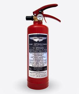 Aston Martin Extinguisher sticker