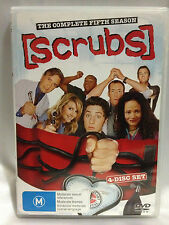 SCRUBS ~ FIRST SEASON 1 ONE~ 4 DISC DVD SET ~ REGION 4