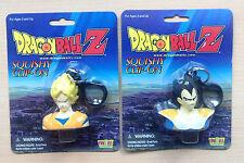 Dragon Ball Z Goku + Vegeta Llavero Anti estres Squishy clip on