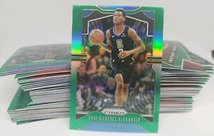 2019-20 Panini Prizm Green Parallel Singles Pick Yours & Complete Your Set