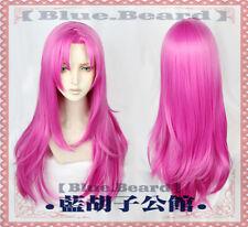 JoJo's Bizarre Adventure Diavolo Costume Cospaly Wig Hair 80cm +Cap