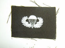 b0437 WW2 US Army Paratrooper Wings OD Airborne Officer Jump Parachute PIR A8A16