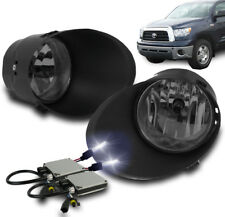 2007-2013 TOYOTA TUNDRA/2008-2011 SEQUOIA SMOKE BUMPER FOG LIGHT+HARNESS+10K HID