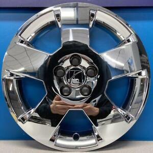 "ONE 2007-2010 Saturn Aura # 6027 17"" Chrome Hubcap / Wheel Cover # 09597585 USED"