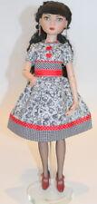 """Robert Tonner Wilde Imagination Ellowyne 16"""" Doll Dress Queen of Hearts"""