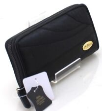 Lorenz Women Slim REAL LEATHER PURSE credit cards coin section wallet UK SELLER