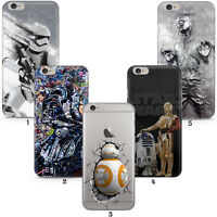 Star Wars Han Solo BB8 Darth Case Cover For Apple iPhone 5 6 7 8 11 12 X Xr SE