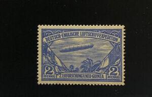GERMAN NEW GUINEA 1913 ZEPPELIN Semi Official  VF yd 271