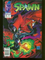 SPAWN # 1 NEWSSTAND EDITION MAY 1992 FINE INV: 21838