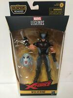 IN STOCK! Marvel Legends X-Force Wolverine Action Figure 6-Inch Wendigo BAF MISB
