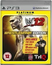 WWE 12 Wrestlemania Edition (Sony PlayStation 3) PS3 Game Boxed Manual Complete