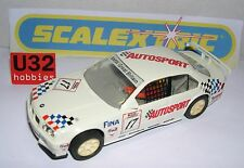 SCALEXTRIC BMW 318I #17 AUTOSPORT ONLY SET C-673 MINT UNBOXED
