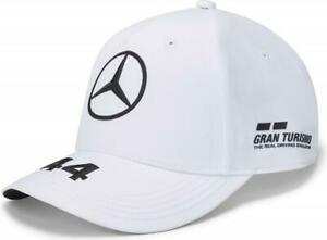 Mercedes AMG Petronas MotorsportF1 Lewis Hamilton Baseball Driver Cap White 2020