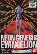 NEON GENESIS EVANGELION *VERY RARE* NINTENDO 64 GAME *NEW* AUS EXPRESS